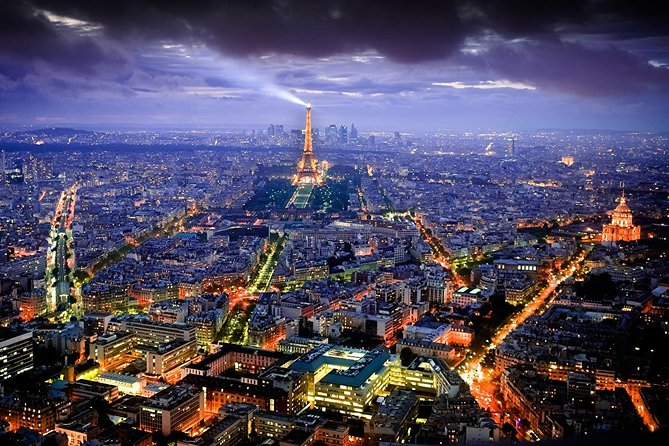 Romantic Paris by night