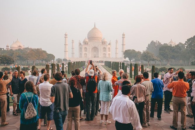 2-Days Taj Mahal Sunrise and Sunset Tour from Delhi