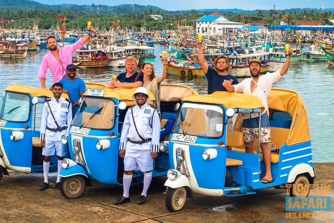 """THE ORIGINALS"" Tuk Tuk Safari Sri lanka, the first and the best on the Island !"