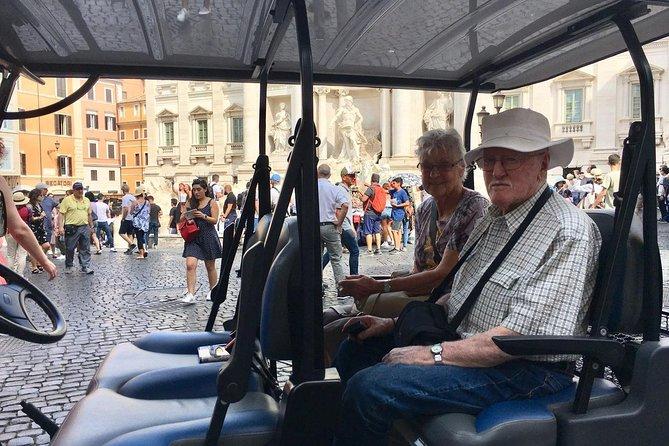 Full day Rome Golf Cart Tour