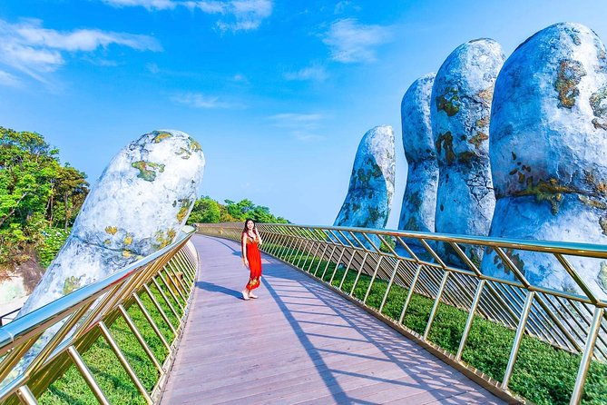 Golden Bridge & Discover Ba Na Hill with Group tour from Da Nang