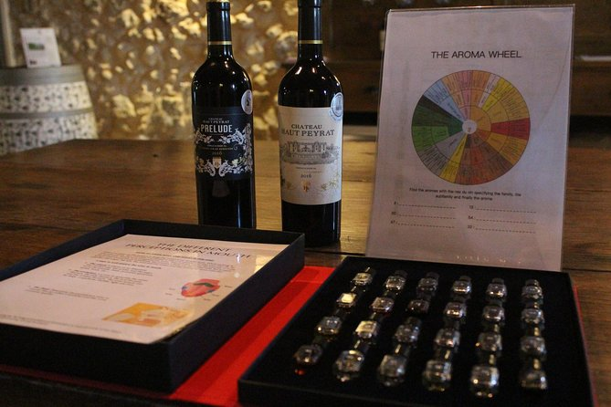 Rediscover your senses with wine