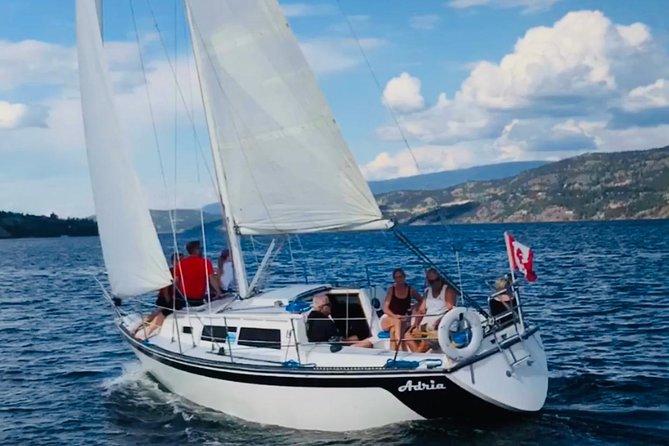 Private Kelowna Sailing Cruise on Okanagan Lake