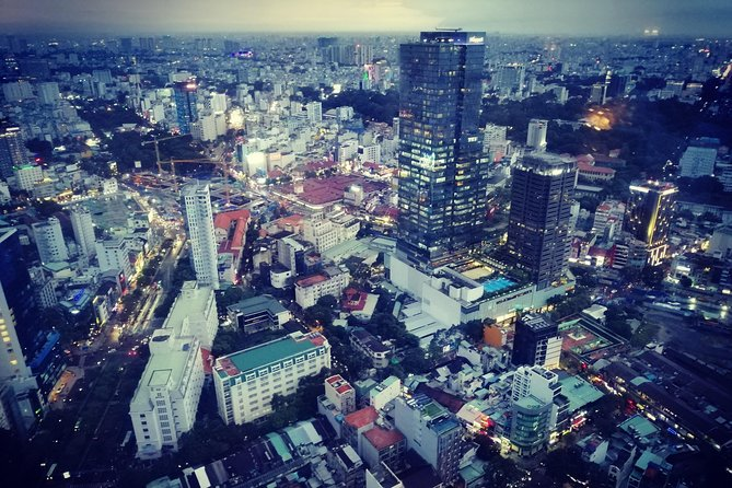 SAIGON ON TOP: Drink at Bitexco Tower and Dinner on Cruise photo 11