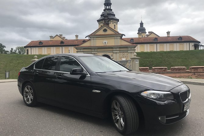 Private Nesvizh Palace Tour by BMW 5 with English-speaking Driver