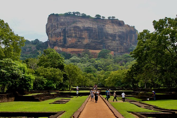 Private Day Tour to Sigiriya Rock & Dambulla Cave Temple From Kandy.