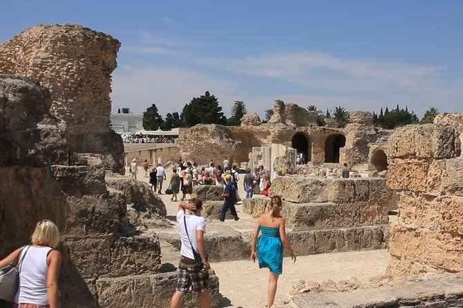 Archaelogical Site Of Carthage + Picturesque Village Of Sidi Bou Said photo 2