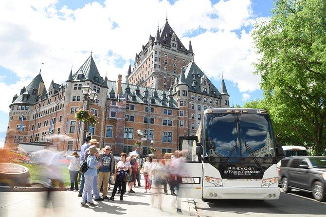 ケベックシティショアツアー:ケベックシティ観光ツアー