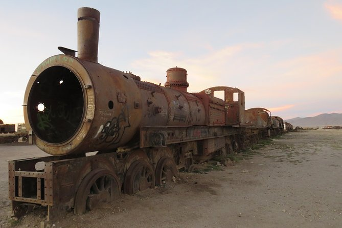 Visit Uyuni Salt Flats by Train from Villazon, Bolivia photo 8
