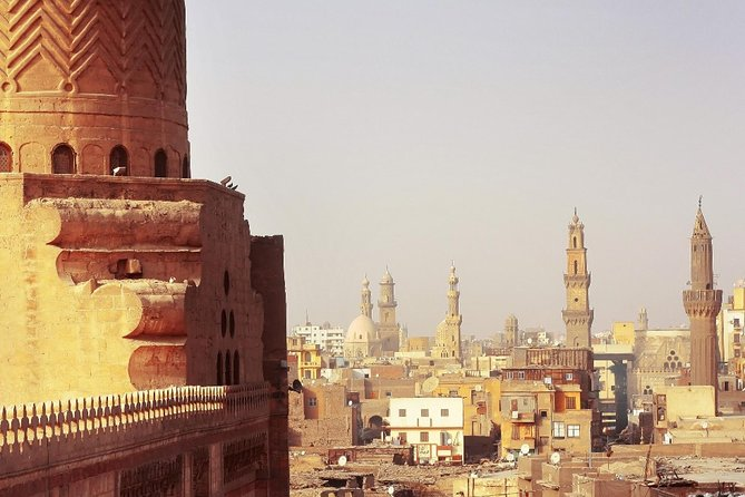Private Downtown Cairo Half-Day Tour with Egyptian Dinner