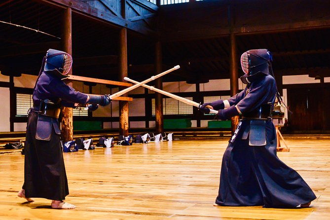 2-Hour KENDO Experience in Kyoto