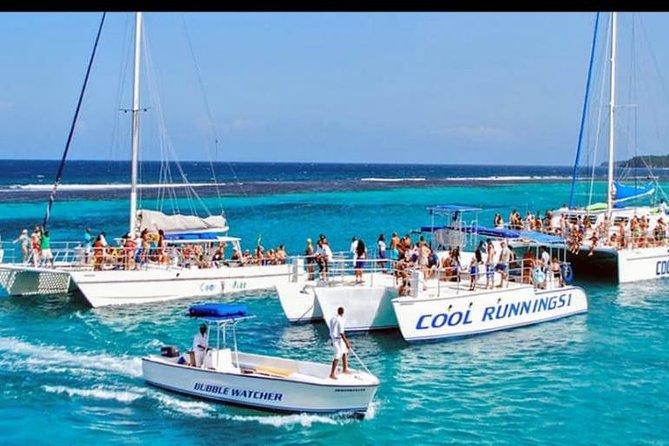 Catamaran cruise with Dunn's River falls from Ocho Rios
