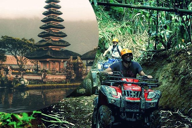 Bali ATV Quad Bike with Bedugul Lake Temple and Tanah Lot Sunset Tour