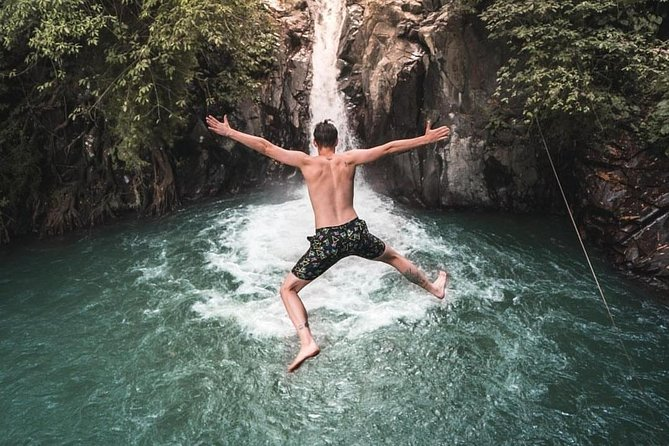 Cliff Jumping and Sliding at Aling Aling Waterfall