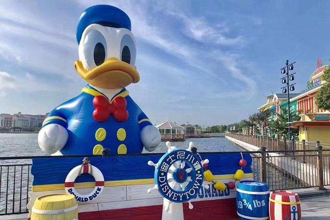 Shanghai Disneyland To Hongqiao Train Station:Private with Meet & Greet Service