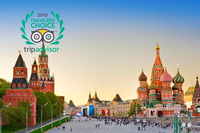 Exploring Red Square, Kremlin and St.Basil Cathedral Private Tour