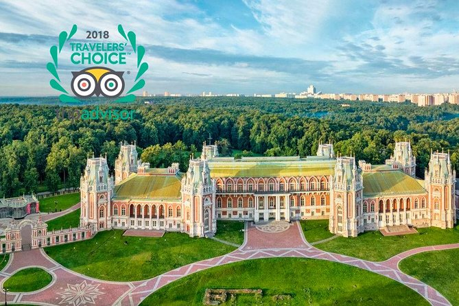 Private Tour to Tsaritsyno Park and Palace (with metro ride)