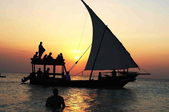 Sunset Dhow Cruise in Zanzibar