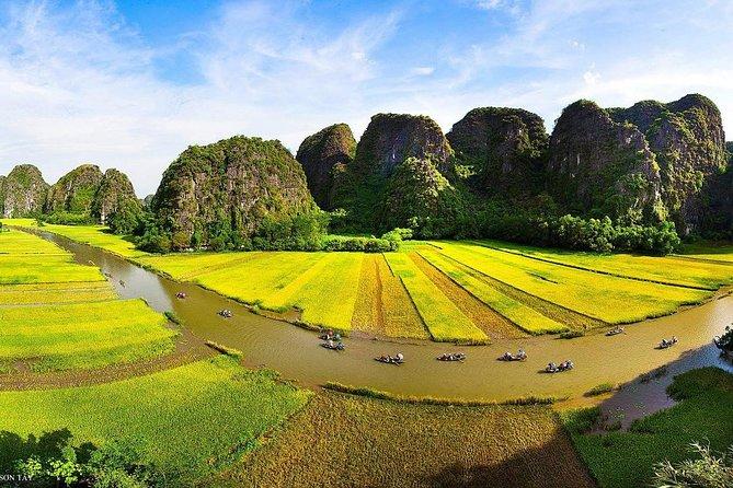 Hanoi - Hoa Lu -Tam Coc -Halong Bay 5days/4nights