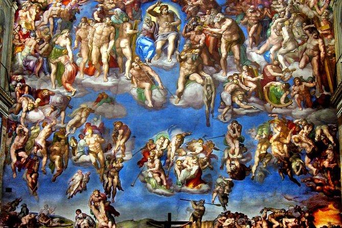 Son tures guiados los llevan to visit the museos vaticanos y la Capilla Sixtina