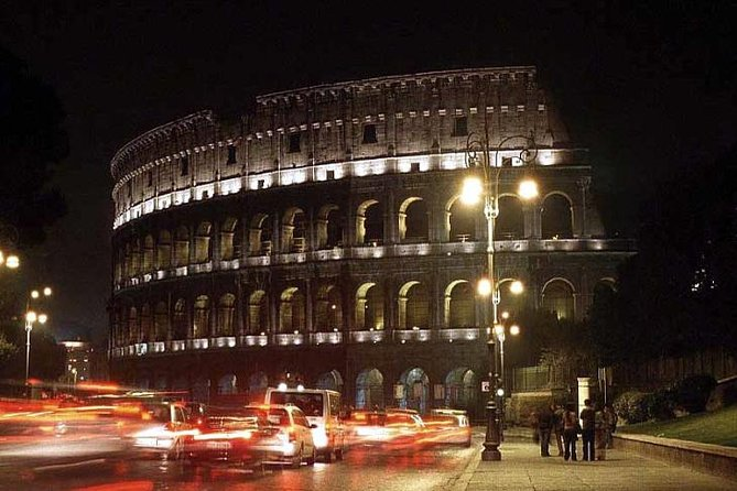 Rome Under the Stars Private Evening City Tour By Car