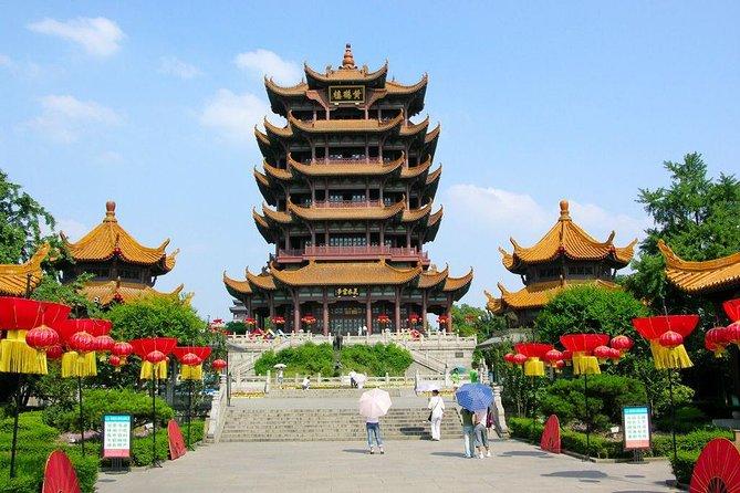 Private day tour to Wuhan Yellow Crane Tower Donghu lake Yangtze River Bridge