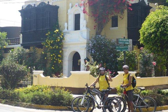 Halvdag Lima Discovery Private Urban Bike Tour