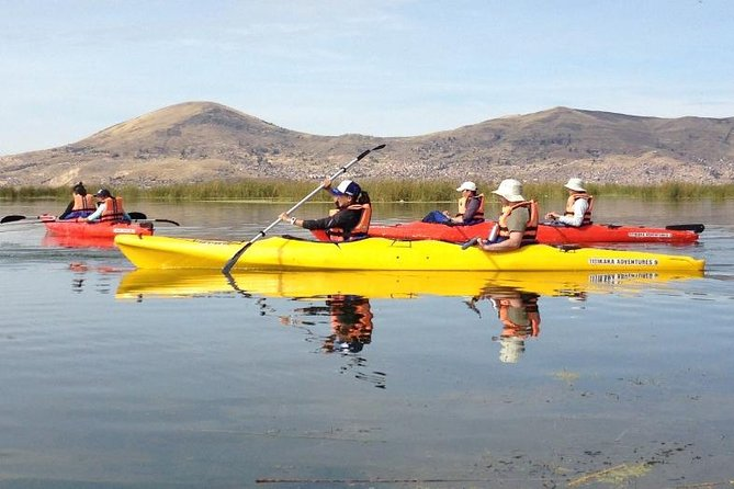Uros Kayaking and Taquile Island Day Tour photo 12