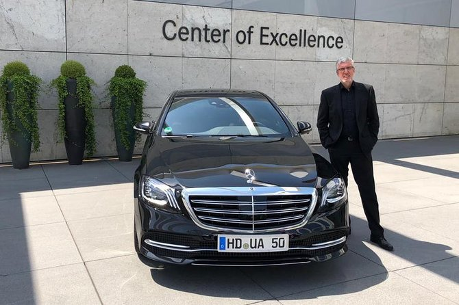 First class airport transfer from Heidelberg and the surrounding area to Frankfurt