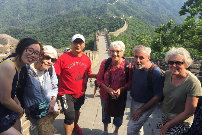 Half day for Mutianyu Great Wall tour by a car (6:30am-12:30pm or 1:30pm-7:30pm)