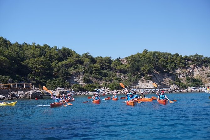 Rhodes Sea Kayaking Tour