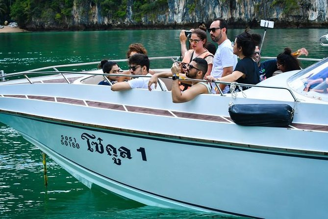 Phuket : James Bond Island & Hong Island (Phang Nga) Canoeing by Speedboat trip