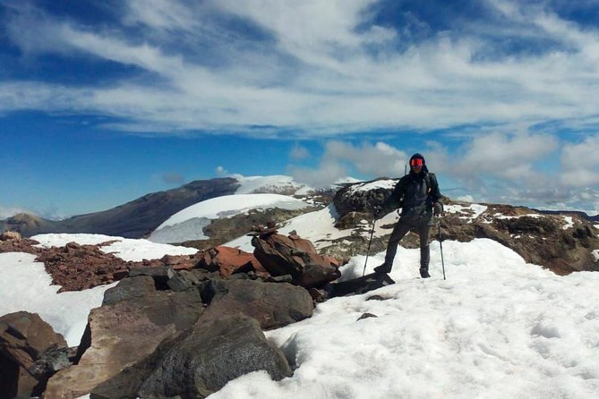 Santa Isabel snowy summit