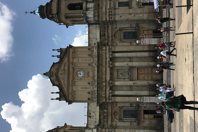 City walking tour Guatemala City and Relieff Map