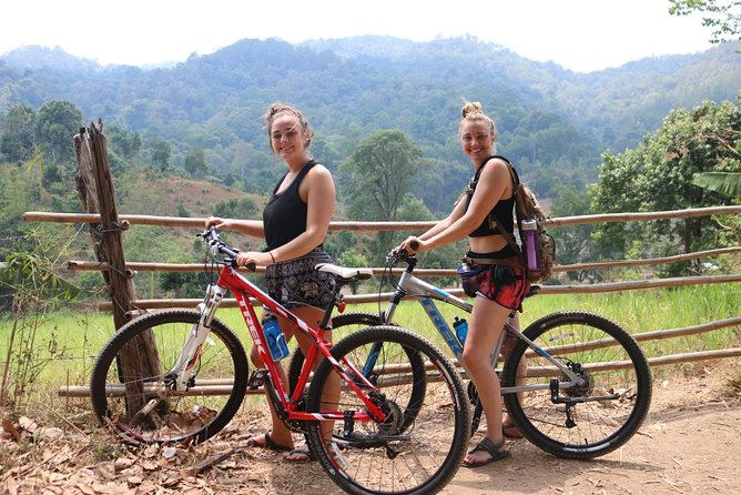 1 1Day Biking, Waterfall, bamboo rafting