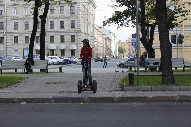 St.Petersburg City Tour on segway with a private guide