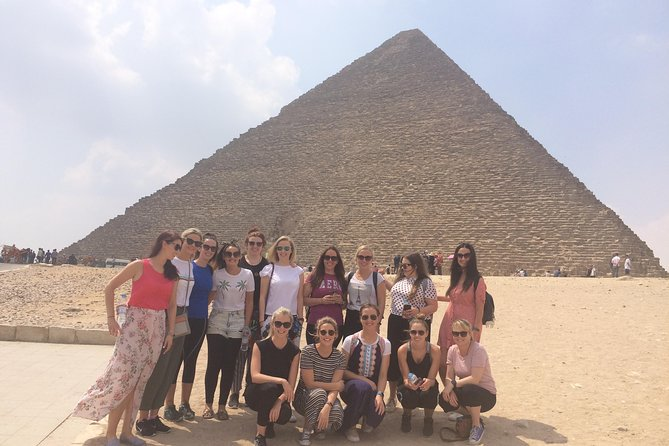 Best Private Day Tour to Giza Pyramids&Great Sphinx and Egyptian Museum.
