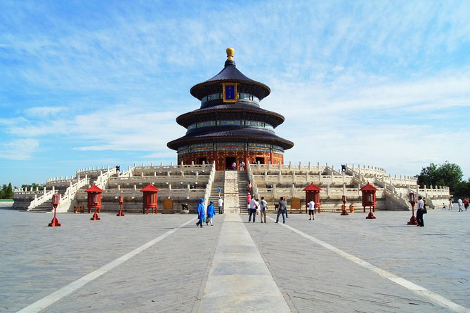 Jinan Private Bullet Train Trip to Beijing: Summer Palace and Temple of Heaven