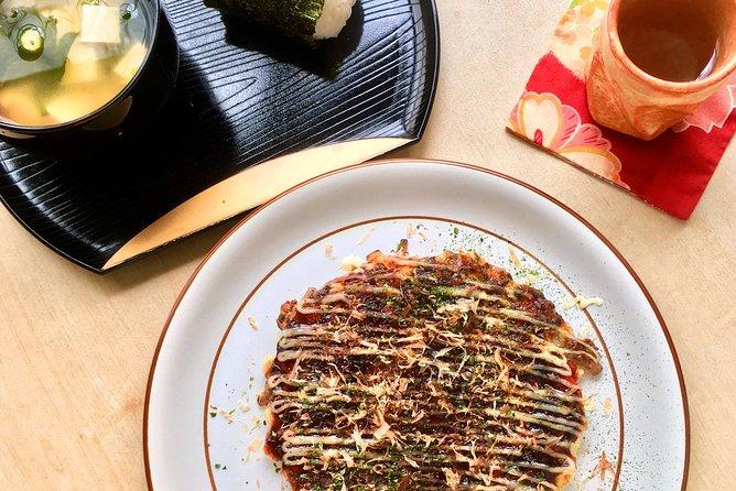 Osaka Okonomiyaki Cooking Experience!