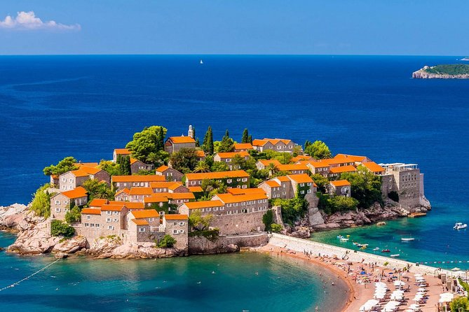 Private Tour to Budva, Sveti Stefan, Kotor Old Town from-to Kotor Port