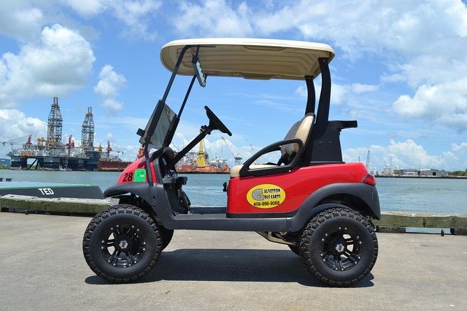 Two Seater Golf Cart (Seawall)