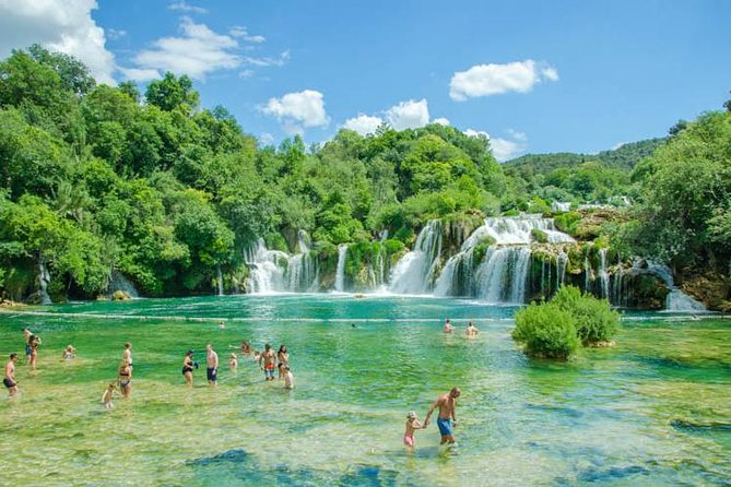 Private Krka waterfalls and Trogir Tour