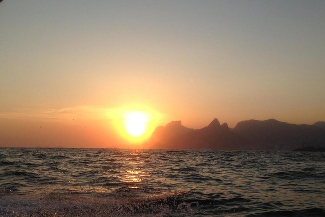 The most beautiful sunset of Rio de Janeiro