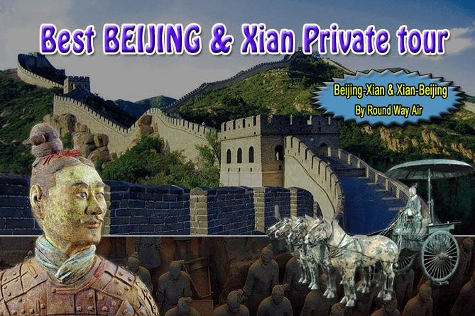 [6 days] Beijing Xian Private tour with Terra-cotta warriors by round way air