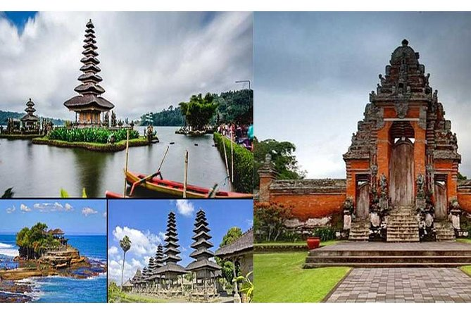 Private Tour : Ulun Danu Beratan, Taman Ayun and Tanah Lot
