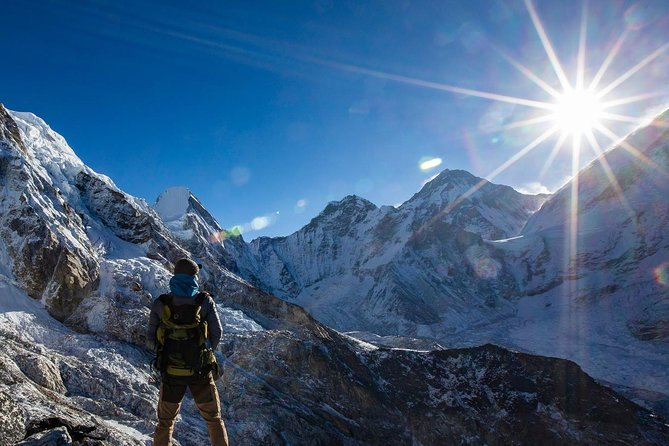 Group joining Everest Base Camp Trekking with fixed departure