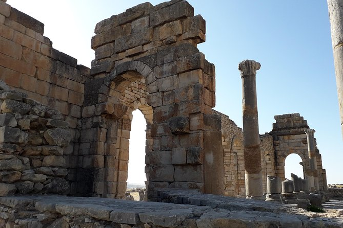 Journey to volubilis meknes from Fez