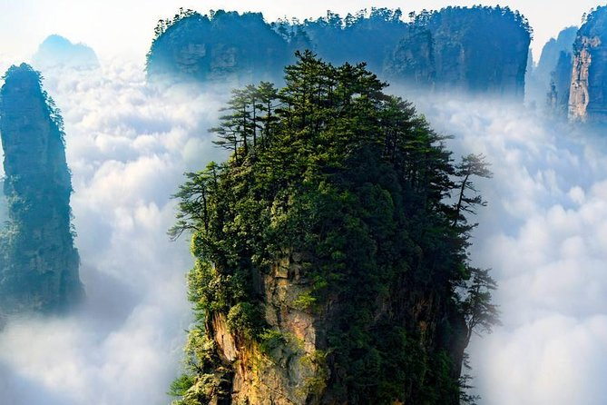 "1 ""Pandora"" Day Trip-Zhangjiajie National Park(Avatar Mountain Scenery)"