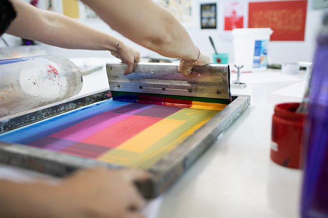 Screen printing T-shirt and more Daily Workshop
