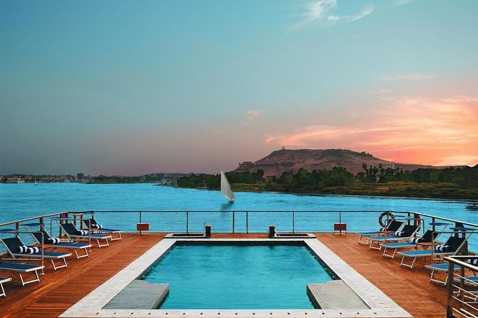 Enjoy Amazing Sailing Nile Cruise from Aswan for 1 Night